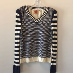 TORY BURCH KNIT PULLOVER SWEATER! Size M